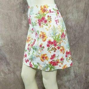 Rafaella Skirts - Rafaella Floral Pencil Skirt